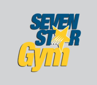 Small seven star gym logo