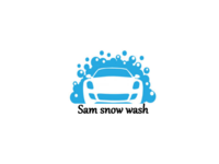 Small sam snow wash logo