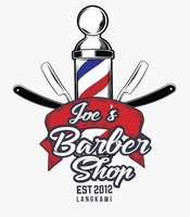 Small joe s barbershop logo