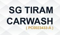 Small sg tiram carwash logo