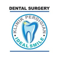 Small klinik pergigian ideal smile logo
