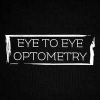 Small eye to eye optometry logo